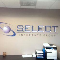 Select Insurance Wall Vinyl