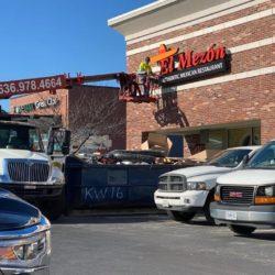 El Mezon new location channel letters
