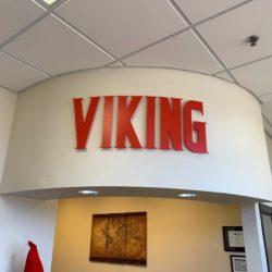 Viking Dimensional letters